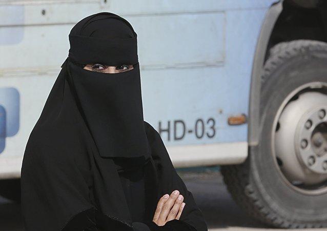Mujer saudita (archivo)