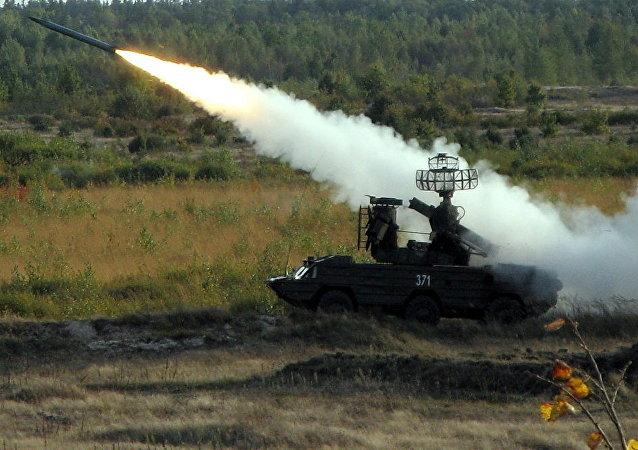 Un sistema antiaéreo Osa