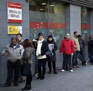 El paro en España (imagen referencial)
