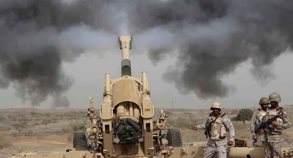 Artillería de Arabia Saudí