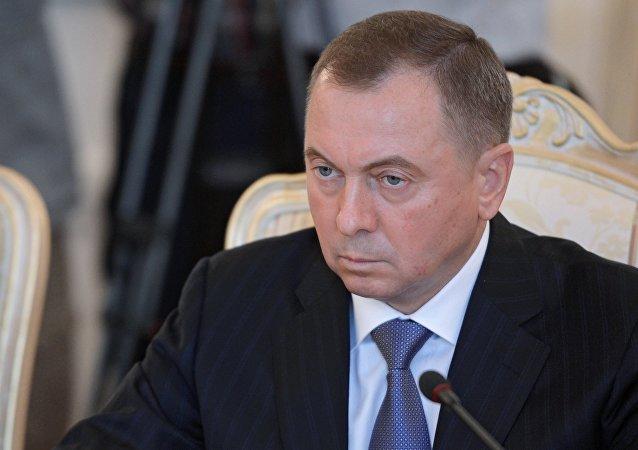 Ministro de Exteriores de Bielorrusia, Vladímir Makéi