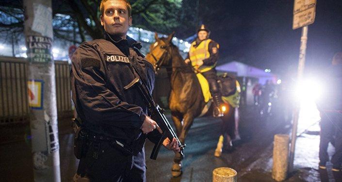 Policía aleman
