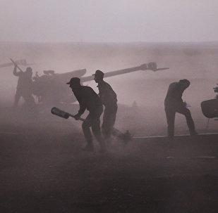 Militantes sirios (archivo)
