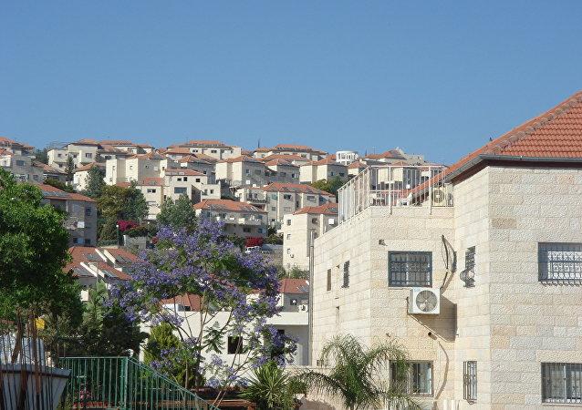 Ciudad de Beitar Illit, un asentamiento israelí al oeste de Gush Etzion