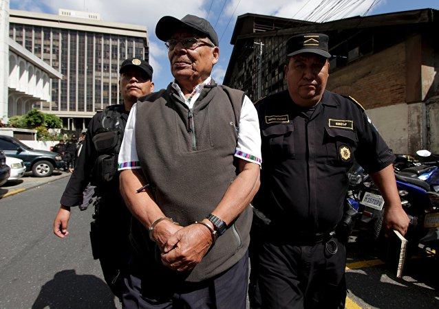 Exjefe del Estado Mayor General del Ejército, Manuel Benedicto Lucas García