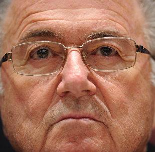Joseph Blatter, el expresidente de la FIFA