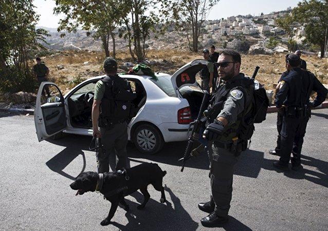 Policías israelíes (Archivo)