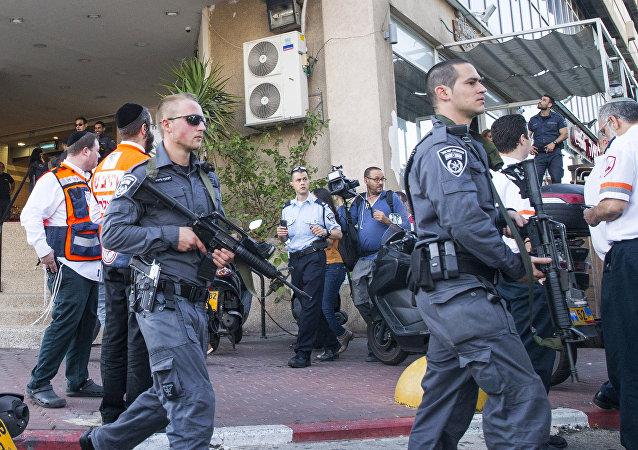 Fuerzas de seguridad israelíes en Tel Aviv (Archivo)