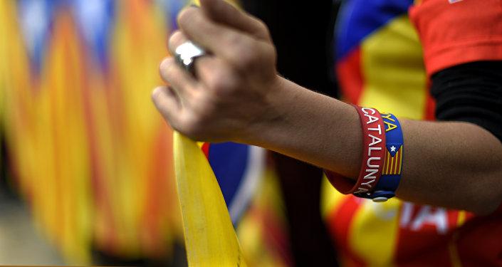 Pulseras con la palabra Cataluña