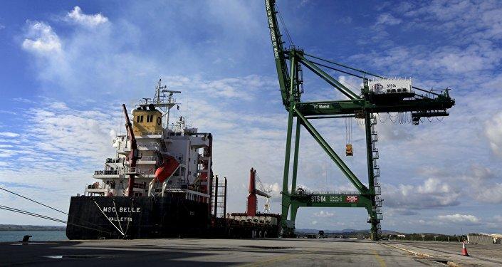 El puerto cubano del Mariel