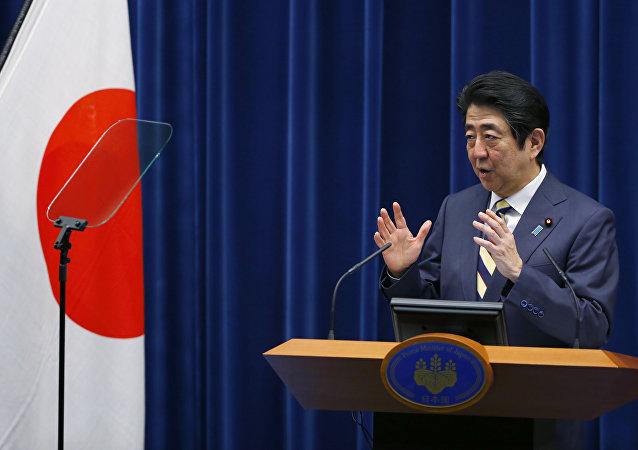 Shinzo Abe, el primer ministro de Japón