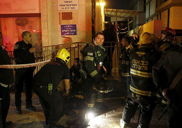 Incendio en el edificio que alberga las oficinas de la ONG B'Tselem