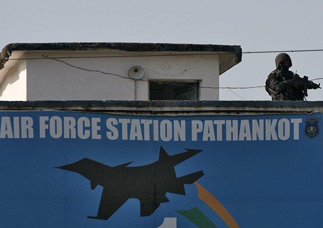 La base militar india Pathankot