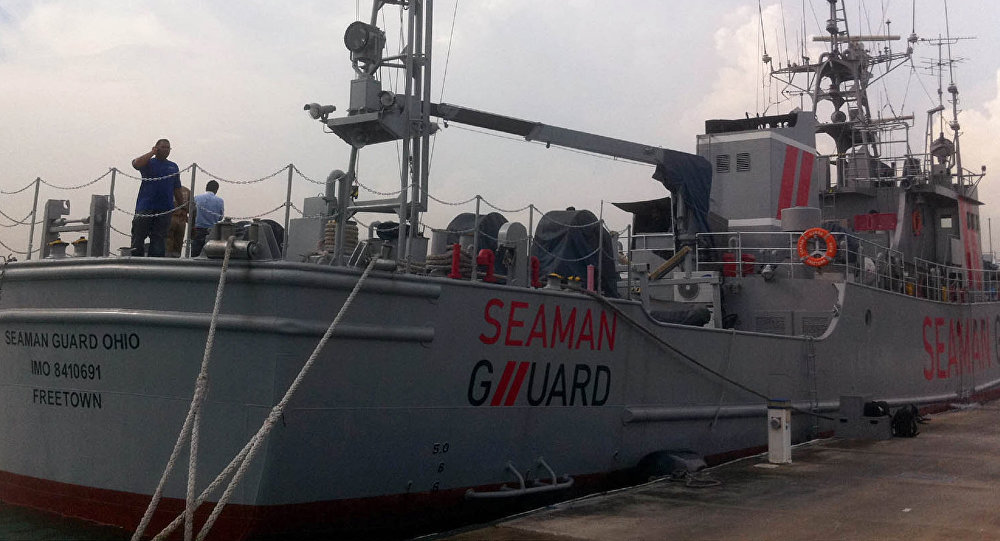 Buque Seaman Guard Ohio