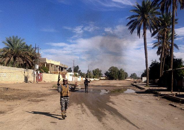 Militante iraquí (archivo)