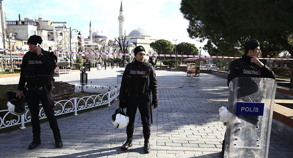 Policía turca en Estambul (archivo)