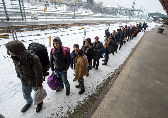 Refugiados en Passau, Baviera