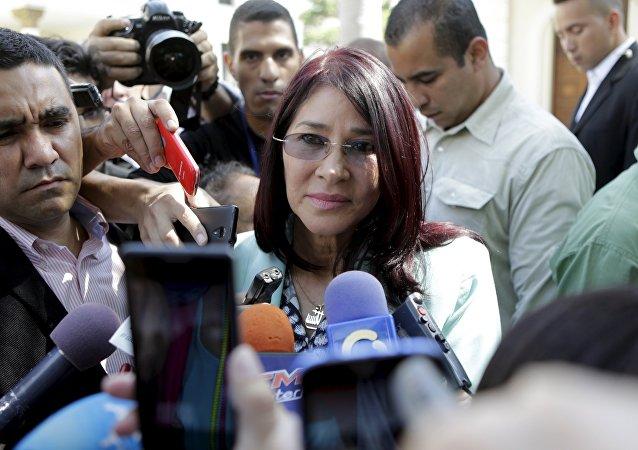 Cilia Flores, esposa del presidente venezolano Nicolás Maduro