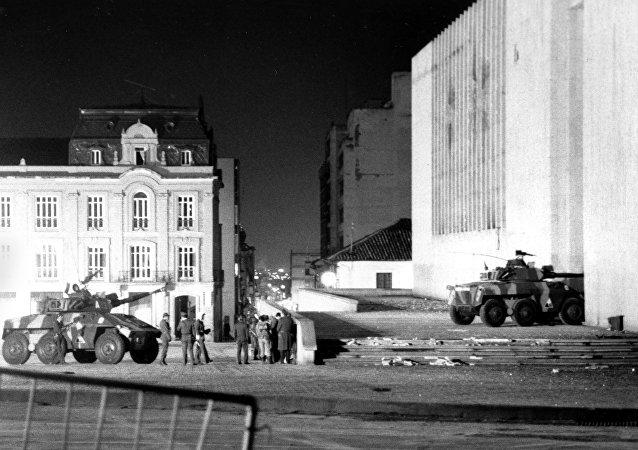 Toma del Palacio de Justicia en Bogotá (archivo)