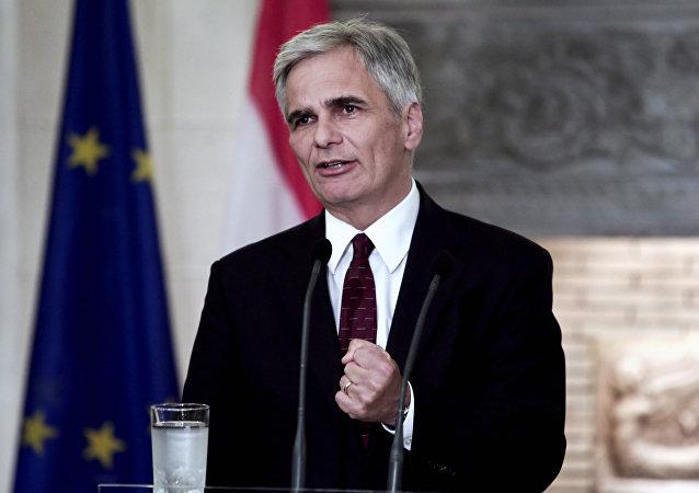 Werner Faymann, canciller federal de Austria
