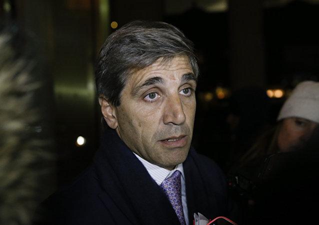 Luis Caputo, secretario de Finanzas argentino
