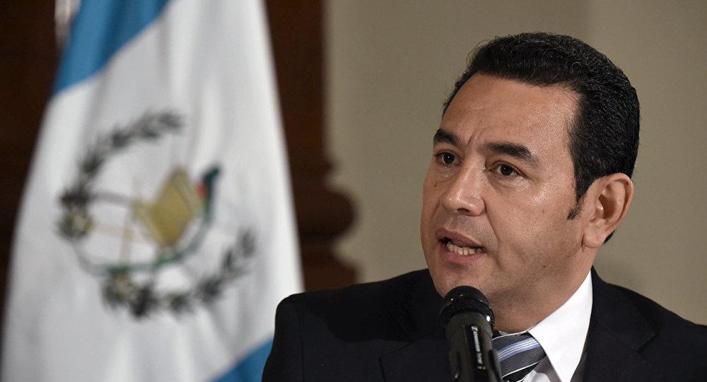 Image result for presidente guatemalteco, Jimmy Morales