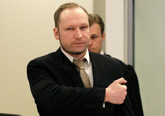 Anders Breivik, el autor de los atentados de Oslo