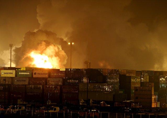 Al menos 39 personas intoxicadas por la nube tóxica en Brasil