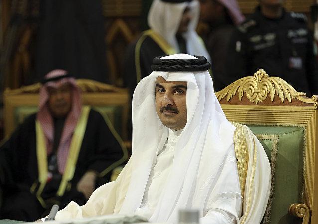 Tamim bin Hamad Thani, emir de Catar