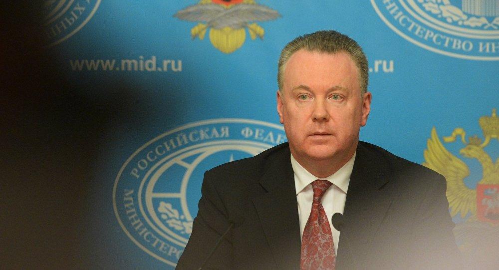 Alexandr Lukashevich, embajador ruso ante la OSCE