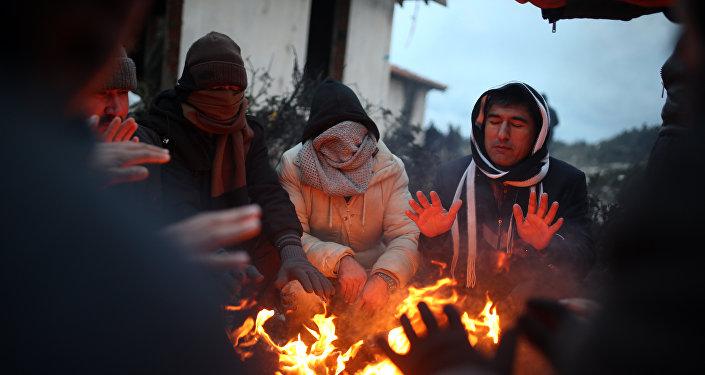 Migrantes en Turquía