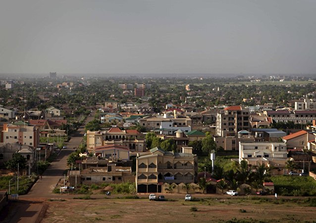 A general view of Burkina Faso's capital Ouagadougou is seen in this September 24, 2012 file photo.