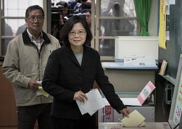 Tsai Ing-wen, la ganadora de las elecciones presidenciales en Taiwán