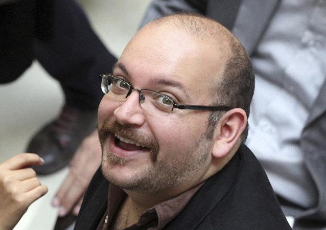 Jason Rezaian, periodista estadounidense y uno de los presos liberados en Irán