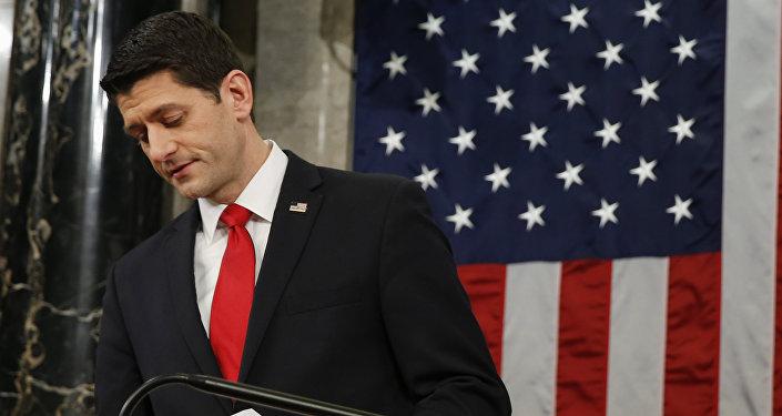 Paul Ryan, portavoz de la Cámara de Representantes del Congreso de EEUU