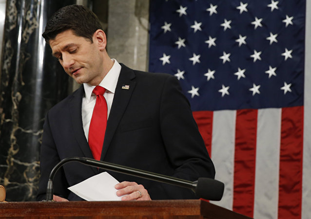 Paul Ryan, presidente de la Cámara de Representantes del Congreso estadounidense