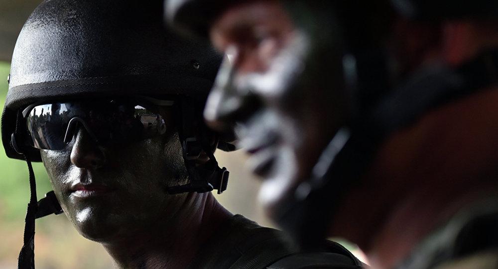 Soldados de las Fuerzas Armadas de Ucrania (archivo)