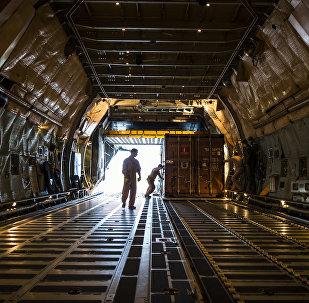 Avión de carga de EEUU
