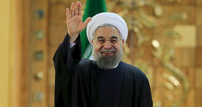 Hassan Rouhani, presidente de Irán (archivo)
