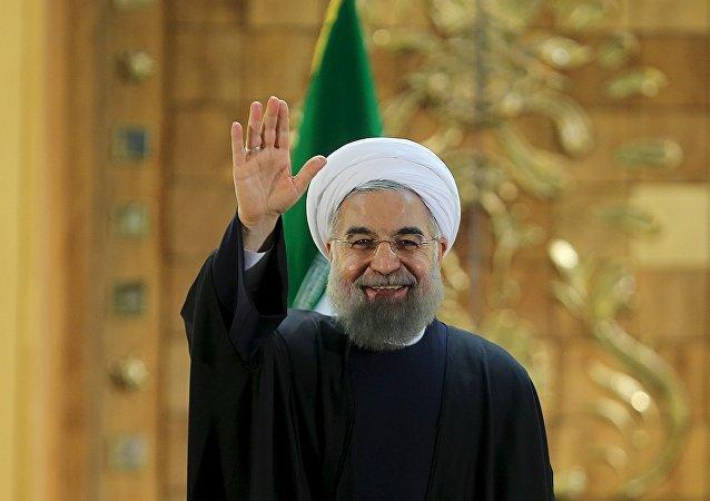 Hasán Rohani, presidente de Irán (archivo)