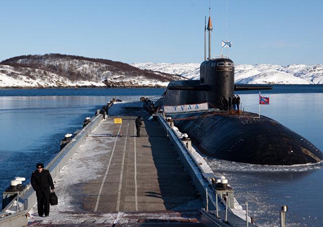Submarino nuclear K-114 Tula