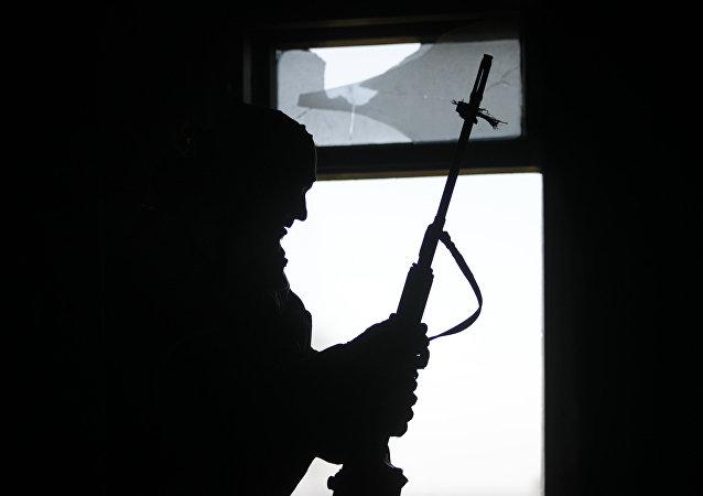 Un francotirador (Archivo)