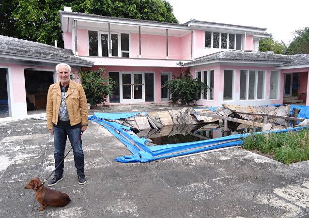 Christian de Berdouare, nuevo propietario de la mansión de Pablo Escobar en Miami Beach