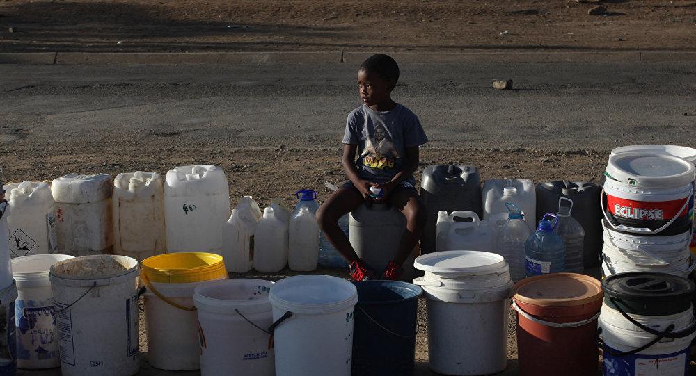 Sequía en el sur de África