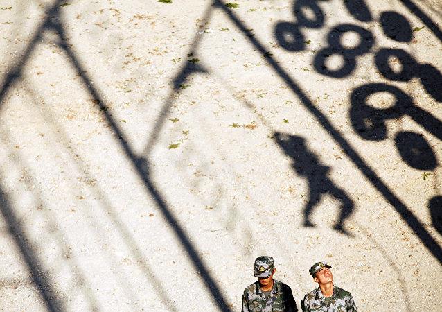 Militares del Ejército Popular de Liberación de China