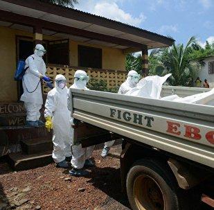 Epidemia del Ébola en Guinea (archivo)