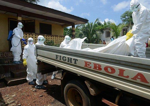 Epidemia de ébola en Guinea (archivo)
