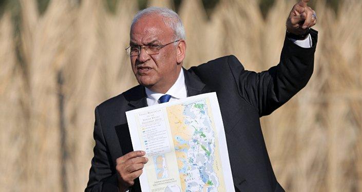 Saeb Erekat, secretario general de la OLP