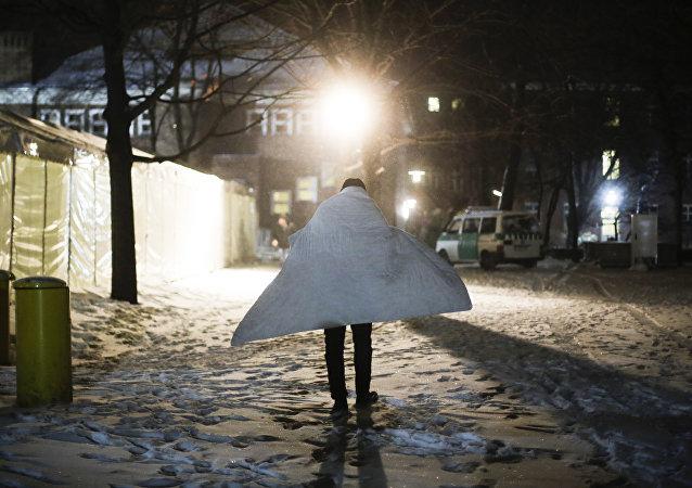 Un refugiado en Berlín