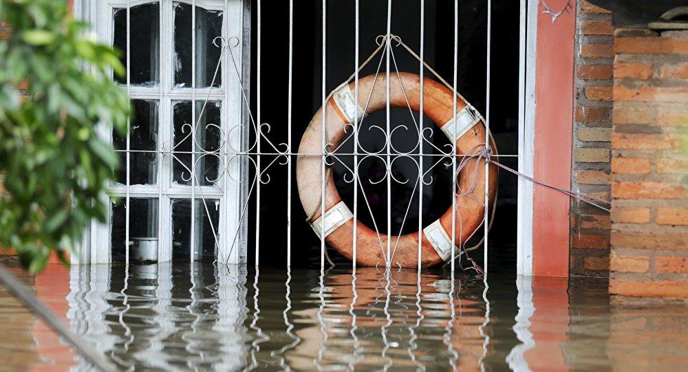 Pergamino, bajo el agua: más de 300 evacuados por inundaciones